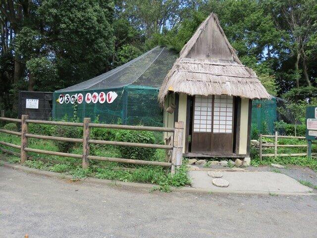 羽村動物園のツルさんの童話ランド