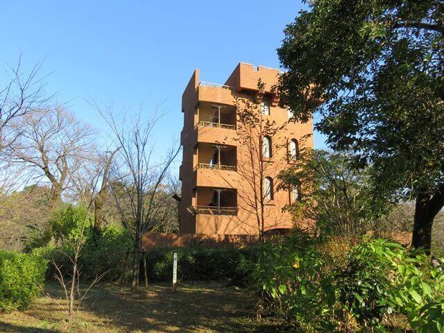 六道山公園の六道展望台