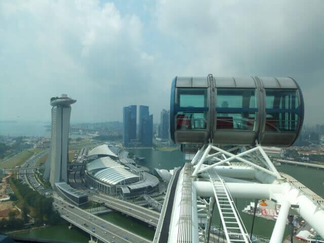 シンガポールフライヤーのカプセル