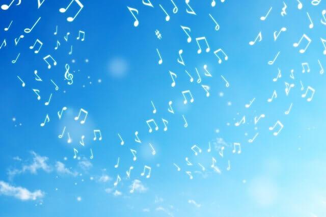 音楽をイメージした画像