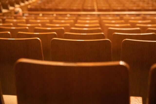 劇場内をイメージした画像