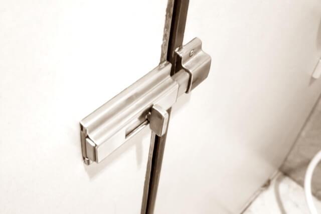 トイレの鍵のイメージ画像