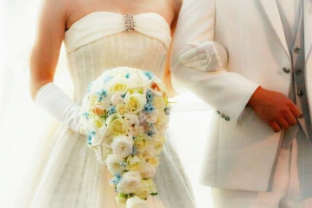ウェディングドレスを着た花嫁のイメージ画像2