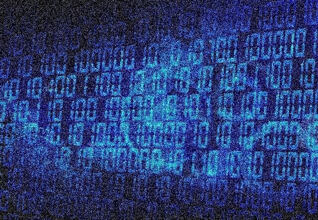 データ社会の見えないもののイメージ画像