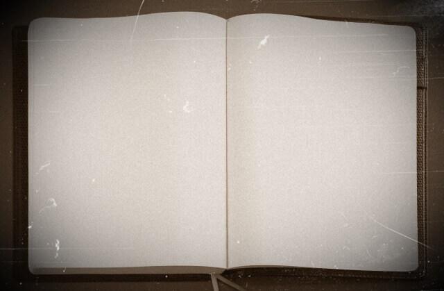 古いノートのイメージ画像