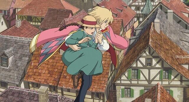 【ハウルの動く城】のシーン・ハウルとソフィー