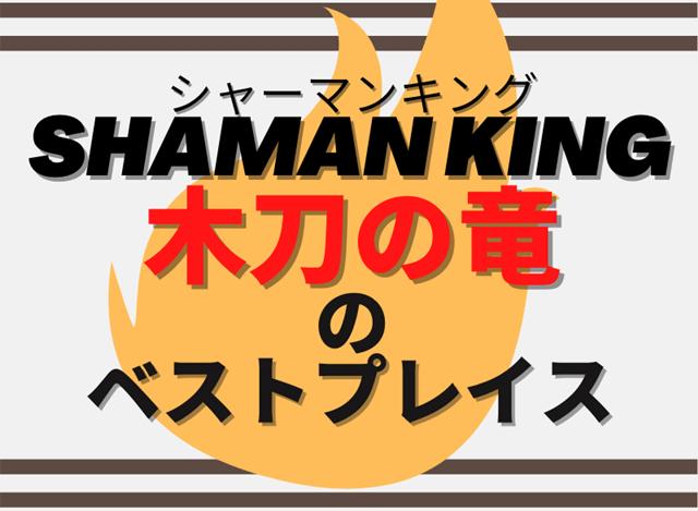 『【シャーマンキング】木刀の竜のベストプレイスとは?』の記事のアイキャッチ画像