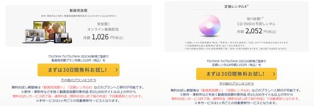 TSUTAYAの『定額レンタル8+動画見放題』プランへの登録方法の説明画像20