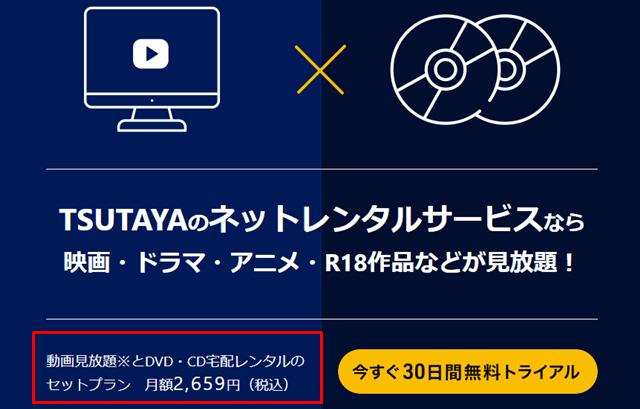 TSUTAYAの『定額レンタル8+動画見放題』プランへの登録方法の説明画像22
